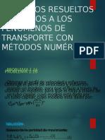 Problemas Exposición de Fenómenos de transporte