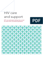 Hiv care support