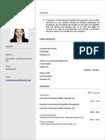 Official CV Czerlene