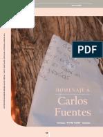 Homenaje Carlos Fuentes