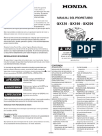 GX160 QPU - Manual Del Propietario