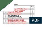 Alfa Test Profiles