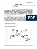 Design of Knuckle Joint