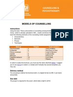 Models of counselling