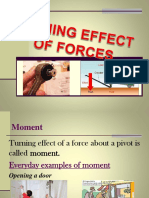 Turning Effect of Forces
