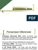 Materi PDB Orde 1