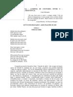 MATERIAL COMÉDIAS DE COSTUMES para banca