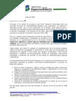 Concepto Carlos Arturo Velandia Megaseguridad Oj-3000!01!1853-2004