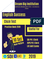 Top Cloze Test for SBI and LIC Exams