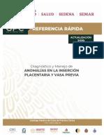 Diagnóstico y Manejo de Anomalías en La Inserción Placentaria y Vasa Previa RYR 2019