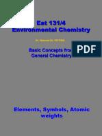 Basic Chemistry 1
