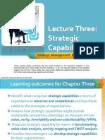 Capacidad Estratégica