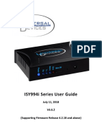 ISY 994 user manual