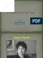 A Woman Out of Her Time (Reading Practice) 27-10