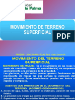 MOVIMIENTO DE TERRENO
