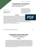 Desarrollo de competencias comunicativas. Artículo de investigación..pdf