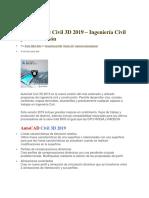 Autocad Civil 3d 2019 Instrucciones de Instalacion