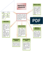 Mapa Conceptual Principios de La Organización