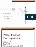7-4A Partial Fraction Decomposition