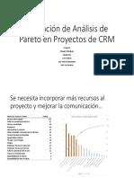 Analisis de Pareto Proyecto CRM