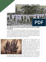 Abolición de La Esclavitud en El Salvador y América Latina