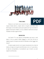 Matematicas Resueltos (Soluciones) Funciones Nivel I 1º Bachillerato