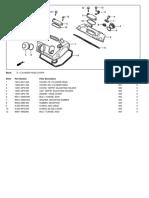Parts List Xrv750y