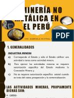 La Mineria No Metalica en El Peru