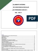 Reglamento Interno y Manual de Convivencia f.d.V.