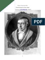 Hegel e Cristo