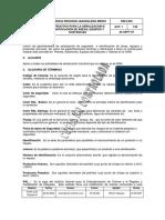 GRI-I-035 Instructivo Para La Señalización de Areas