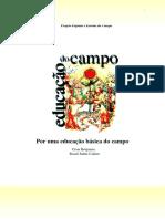 Projeto Popular e Escolas Do Campo - Colecao Por Uma Educacao Basica Do Campo No3