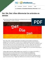 Der, Die, Das_ Cómo Diferenciar Los Artículos en Alemán