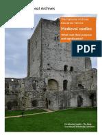 Lesson Medieval Castles