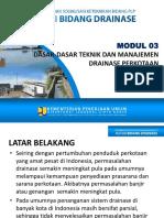 03- Dasar-dasar Teknik & Manajemen Drainase Perkotaan