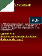 8 Lección Nº8 Principio de Autoridad