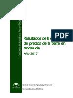 Encuesta de Precios de La Tierra en Andalucía 2017_v1