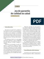 Garantía de Calidad en Salud 2006
