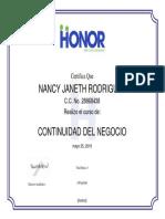 Continuidad Del Negocio_certificado - Continuidad Del Negocio