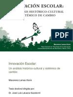 Innovacion escolar, un análisis histórico cultural.pdf
