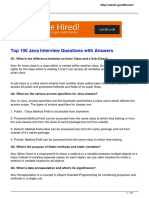 Top 100 core java interview questions
