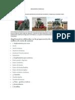 Informacion Maquinaria Agricola