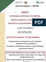 QUI106QUIMICATECNOLOGICAAULA1