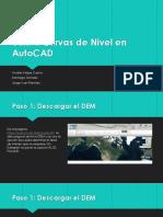 DEM a Curvas de Nivel en AutoCAD