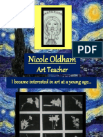 Nicole Oldham - Art Teacher
