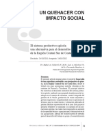 un quehacer con impacto social