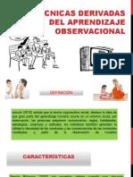 aprendizaje obsrvacional