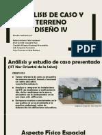 ANÁLISIS DE CASO Y TERRENO ARQUITECTURA