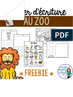 Zoo animals in french