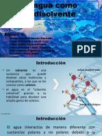 Exp. Agua Como Disolvente (2)
